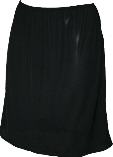 Ex Store Cling Resistant Waist Slip with Split Black 14 29L