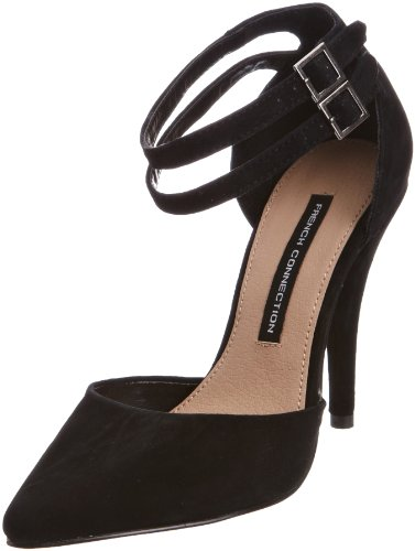 French Connection Women's Tiarella Sfaf7 Black Decorative 2805100209 8 UK