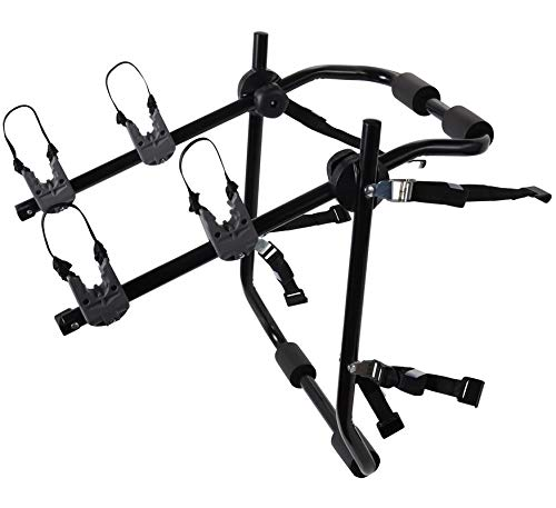 36696e7fa0a Motorup America Deluxe 2-Bike Rack for Car Mount Carrier - Bicycle Racks  for Auto Trunk Fits Most Car Sedans