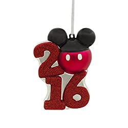 Mickey Mouse Disney 2016 Christmas Ornament by Hallmark