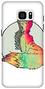 The Racoon Grip Foxy Vixen hard plastic printed back case / cover for Samsung Galaxy S7 Edge
