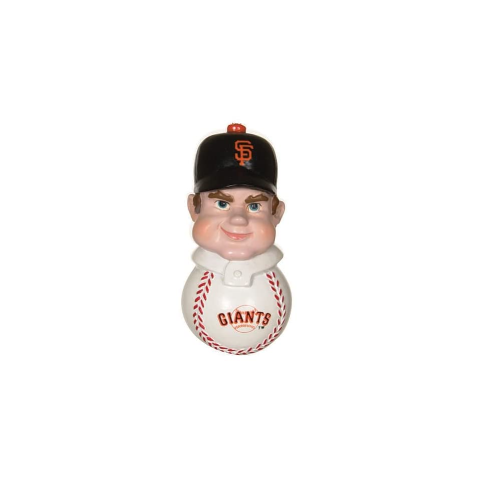 Pack of 4 MLB San Francisco Giants Baseball Slugger Magnets 3