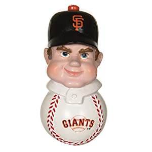 "Pack of 4 MLB San Francisco Giants Baseball Slugger Magnets 3"""