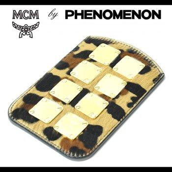 MCM by PHENOMENON レオパードiPhoneケース