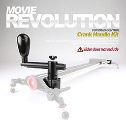 Konova Crank Handle Kit for K5-120/kchk-5120 (47.2 Inch) Can Be Attached on Camera Slider Dolly