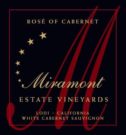 2012 Miramont Estate Rosé Of Cabernet, Lodi 750 Ml
