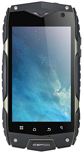 icefox (TM) Thunder Qualcomm Quad Core IP68 Outdoor Handy, Android 4.3 OS Smartphone,Wasserdicht ,Staubdicht, Stoßfest, 4,0 zoll dispay,1GB RAM,4 GB ROM(2,3 GB für benutzer),8MP Kamera WiFi GPS FM,WCDMA 3G,IceFox (R) - i7,Dual Sim 4G LTE Smartphone Ohne Vertrag,5.0 Zoll-HD-Display (720p),4300 mAh große Akku, Android 5.1 Lollipop,Quad-Core-1.3G MHz 64-Bit-CPU, 2G RAM, 16G (12.6GB für den Benutzer),4G LTE/3G WCDMA/GSM,Front-Kamera 5.0MP, Rückseitige Kamera 8.0MP,Versand aus Deutschland