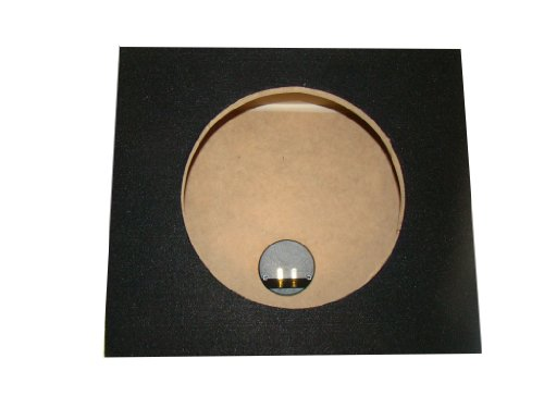 "Zenclosures 1-10"" Jl Audio 10Tw3-D4 / 10Tw3 Subwoofer Box"