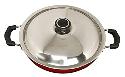 Anjali FKD20 Induction Base Kadhai With SS Lid (2 L)