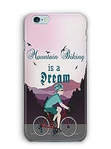 YuBingo Mountain Biking is a Dream Mobile Case Back Cover for Apple iPhone 6S Plus
