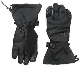 Oakley Men\'s Roundhouse OTC Gloves, Jet Black, Medium
