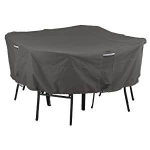 Classic Accessories 55-153-025101-EC Ravenna Patio Square Table and Chairs Cover for 4-Chair from Classic Accessories