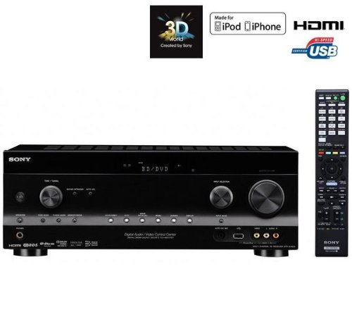 sony strdh820 channel receiver black