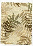 "Elegant Fern Vinyl Tablecloth, 60""X104"" RECTANGLE"