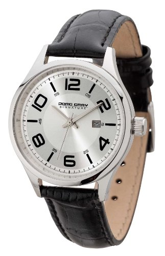Jorg Gray - JGS2571 - Montre Femme - Quartz Analogique - Bracelet Cuir Noir