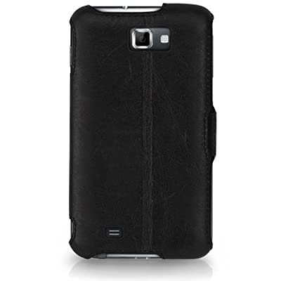 CaseCrown Ace Flip Case (Black) for Samsung Galaxy Note