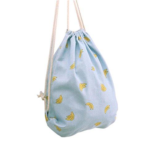 Ammazona Unisex Fashion Backpacks Horse Printing Bags Drawstring Backpack