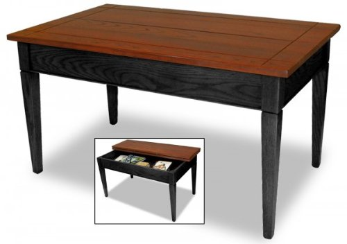 "Slate Camo Fliptop Coffee Table (Slate) (20""H x 22""W x 36""D)"