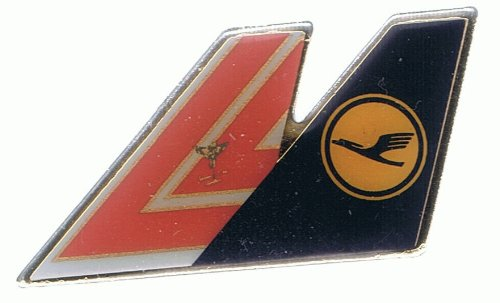 Lufthansa - Star Alliance - Doppelflügel - Pin