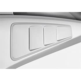 Roush 420093 Quarter Window Louver for Mustang