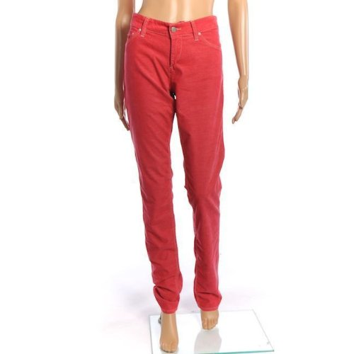 isabel-marant-trousers-raspberry-pink-skinny-jeans-cords-size-34-uk-6-sw-436