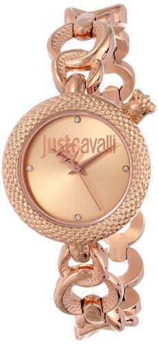 Just Cavalli Women's R7253137501 Lily Rose Gold Ion-Plated Coated Stainless Steel Swarovski Crystal Watch