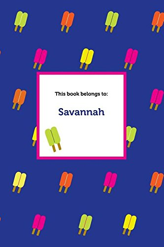 Etchbooks Savannah, Popsicle, Graph