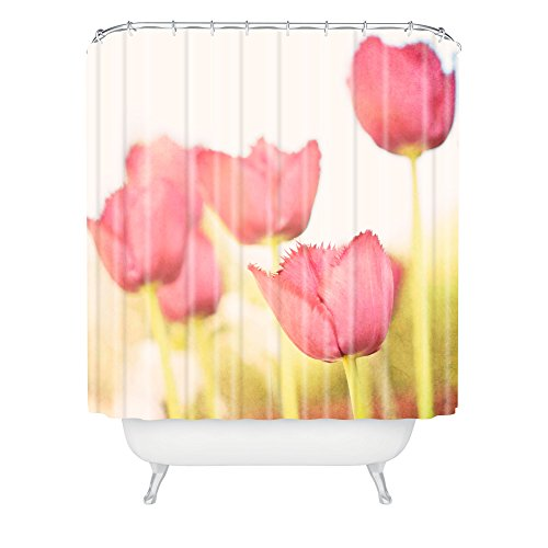 Deny Designs Bree Madden Tulips Shower Curtain front-384689