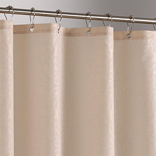 Uphome Shower Curtain Light Tan Or Camel Shower Curtain Or Liner Waterproof No Mold