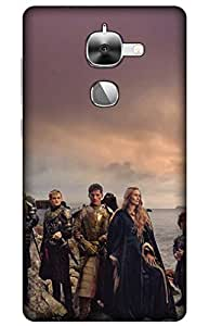 iessential thrones Designer Printed Back Case Cover for LeEco Le Max2