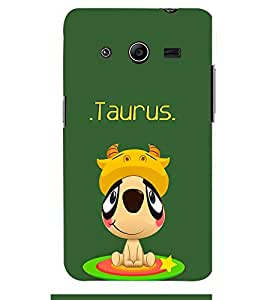 TOUCHNER (TN) Taurus Back Case Cover for Samsung Galaxy Core 2 G355H