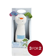 The Snowman™ & The Snowdog Squeaker Stick Toy