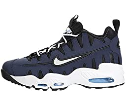 Nike Men\'s Air Max NM Mid Navy/White/Blk/Unvsty Bl Basketball Shoe 8.5 Men US