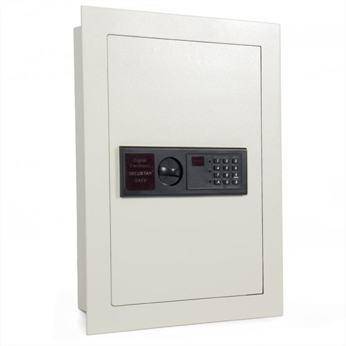 Electronic Digital Wall Safe Home Security Flat Safe