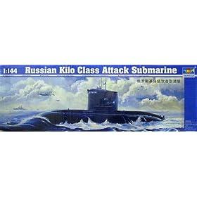 Russian Kilo Class Attack Sub Type 636
