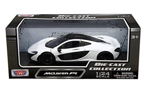 motormax-collection-mclaren-p1-1-24-diecast-model-car-white