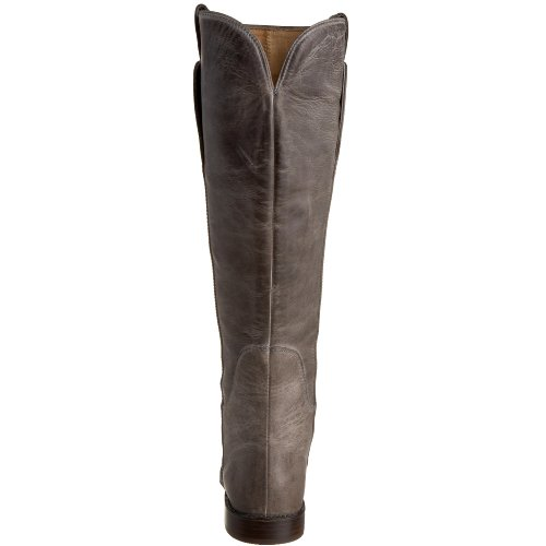 FRYE Women's Paige Tall Riding Boot, Grey Burnished ...