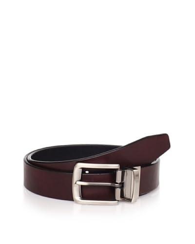 Joseph Abboud Men's Burnished Reversible Belt  [Brown/Black]