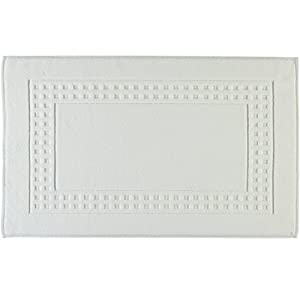 Vossen Country Badeteppich Shower Mat, White, 60x60 cm