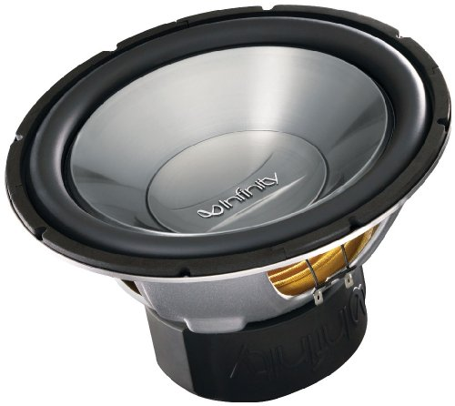 Infinity Reference 1260w 12-Inch 1200-watt High-Performance Subwoofer (Single Voice Coil)