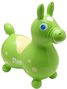 Gymnic / Rody Inflatable Hopping Horse, Lime