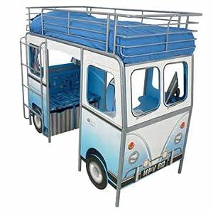 Dynamic Blue De Van Cabin Bed - Cleva Edition Night'Lite Bundle
