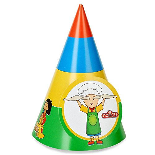 Caillou Cone Hats (8)