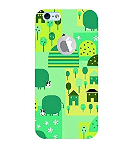 99Sublimation Buffalo in Animation 3D Hard Polycarbonate Back Case Cover for Apple iPhone 6S