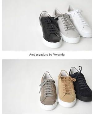(アンバサダーズ バイバージニア)Ambassadors by Verginia ローカット レザースニーカー・9838