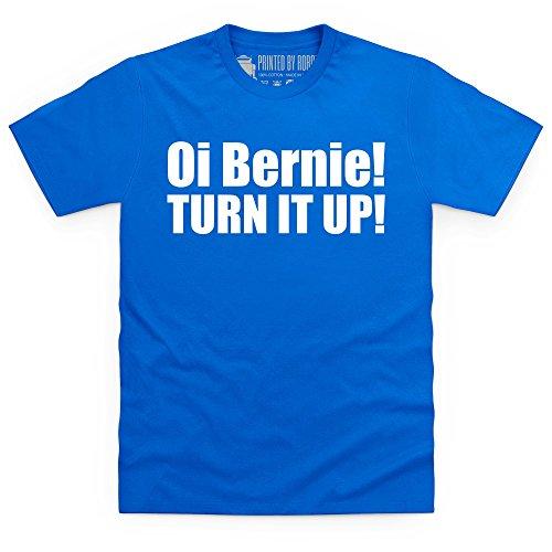 Oi! Bernie T-shirt, Uomo, Blu royal, 5XL
