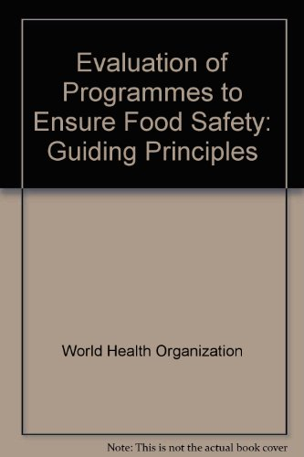 Evaluation of Programmes to Ensure Food Safety: Guiding Principles