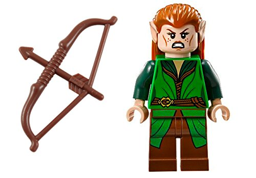 Lego Tauriel Mini Figure w/ Long Bow - Bright Green Outfit
