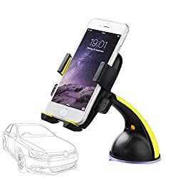 Universal Car Mount Holder Phone Holder For Iphone 6 5 5s 5c 4s 4 Samsung Galaxy S3 S4 S5 - Galaxy Note 2 3 4, Htc One, Lenovo, Micromax, Xiaomi, Intex, Lg, Nokia Lumia And All Smartphones