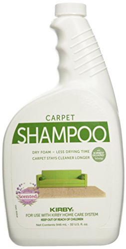 Kirby Vacuum Cleaner Quart Lavender Scented Carpet Rug Shampoo 32oz (Kirby Green compare prices)